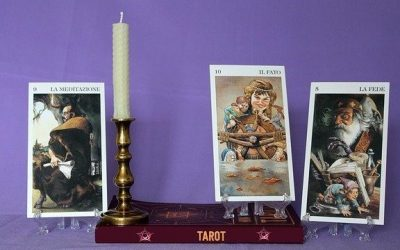 Phenomenological approach to tarot readings